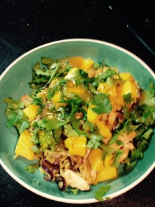 Chicken & mango rice
