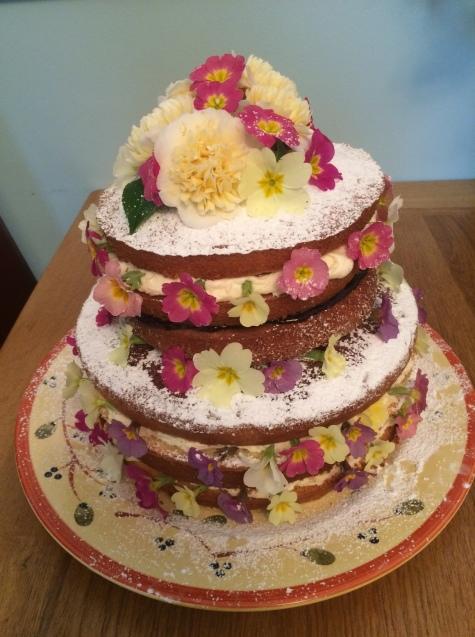 Spring celebration cake